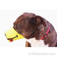 HitPAWSButton Funny SMILE Dog Muzzle Sizes XS to XXL - B079QK9LJP