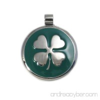 LuckyPet Pet ID Tag - Clover Jewelry Tag - Dog & Cat Pet Tags - Custom Engraved on the Back Side - B003J6S0ZE