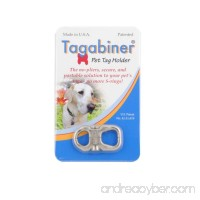 New Inventor Products Tagabiner The New Pet Tag Holder  Secure and Portable Solution to your Pet's Tags - B009268KM8