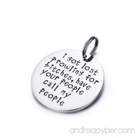 Udobuy Funny Pet Tag Funny Dog Tag Stainless Steel Pet Tags Dog Collar Tag Prowling for Bitches - B076WWR7DR