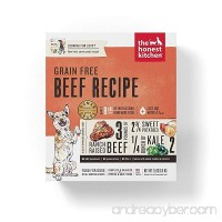 Honest Kitchen The Human Grade Grain Free Beef Dehydrated Dog Food 2 lb Fast Delivery!! - B07FSLVRM3