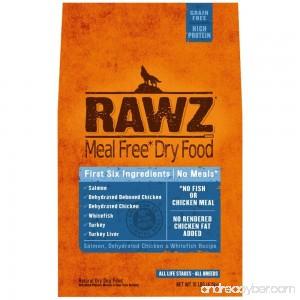 Rawzreg; Meal Free Dry Dog Food Salmon Dehydrated Chicken Whitefish Recipe (10 lb) - B014OIEU4K