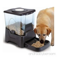 10L LCD Display Programmable Portion Contro Automatic Pet Food Feeder - B079B8KF2M