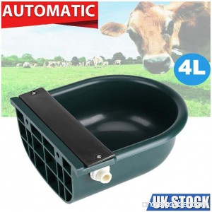 Aoile 4L Automatic Water Bowl Float-ball Type Water Feeder Water Dispenser for Sheep Dog Horse Cow Dog Sheep Goat by - B07DWR3773
