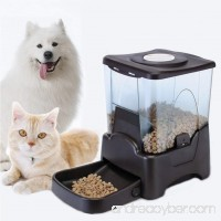 Bartonisen Automatic Pet Feeder Programmable Food Dispenser Large Pet Food Container LCD Display for Dogs Cats - B07B7LT2WZ