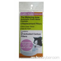 Cats Rule Replacement Filter for Fountain 3-Pack - B004IVIIN8
