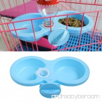 Delight eShop New Dog Cat Cute hanging pet bowl Puppy Automatic Water Dispenser Food Dish Bowl Feeder - B01N130P9H