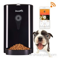 JEMPET Petwant SmartFeeder Automatic Pet Feeder  Pet Food Dispenser for Dogs and Cats  Controlled by IPhone  Android or Other Smart Devices … - B0759D1JC4