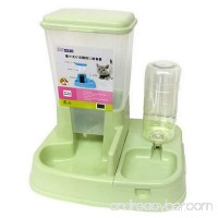 Neggcy Automatic Pet Food Drink Dispenser Dog Cat Feeder Water Bowl Dish Large Combo - B0749G9RV8