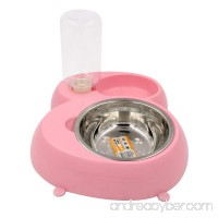 Pet Bowl Dog Bowl Linka Pet Food  Drinking Water Bowl  Dogs  Cats  Automatic Food  Drinking Water  1 Set Dispenser Feeder Container - B01DNUB3AE