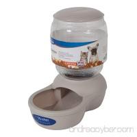 Petmate Gray Replendish Pet Feeder - B0169IV582