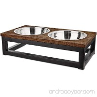 Harmony Elevated Dog Bowl Double Diner - B074P3TWPQ