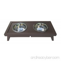 New Age Pet ecoFlex Adjustable Height Double Dog Bowl - B00FWODAYW