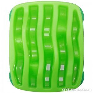 Kyjen Outward Hound 2874 Slo-Bowl Slow Feeder Slow Feed Interactive Bloat Stop Dog Bowl Large Green - B00FPKNSKE