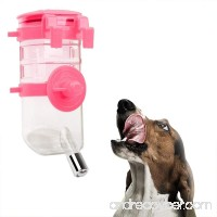 Aolvo Pet Water Bottles  Hanging Water Dispenser Automatica Water Drinking Feeder for Dogs  Cats  Hamsters  Rabbits and Other Animals-350ML - B07DSDMS6K