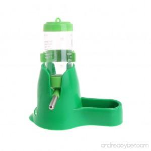 Onpiece 3 in 1 Hamster Rest Dispenser Base Hut Food Water Drinking Bottle - B0772JZND1