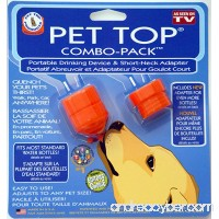 Pet Top®® Combo Pack Portable Water Bottle Drinking Adaptor for Pets - B002LNXBYG