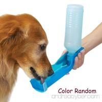 Pocktyle 250ML Foldable Plastic Dispenser Drinking Fountain Pet Water Bottle Dog Feeding Bowl Kettle - B07BVKSXXM