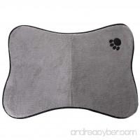Milue Pet Food Water Bowl Feeding Mat Dog Cat Dish Bowl Pad Pet Cushion (01#) - B07F9PCC5H