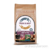 Fresh Is Best Raw Freeze Dried Dog Food - B00GIR8F74