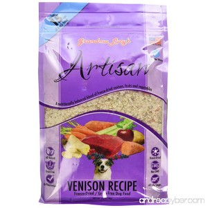 Grandma Lucy's Freeze-Dried Grain-Free Pet Food: Artisan Venison 3lbs - B00BC47O5M