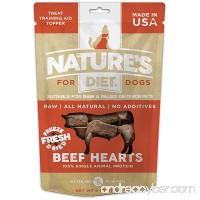 Nature's Diet Raw Freeze Dried Grain Free Dog Treats 100% Beef Hearts - B078T1KQ17