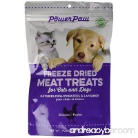 Power Paw Products Freeze Dried Chicken Piece  4-Ounce/10 by 6.5 by 3-Inch - B00PXIZ52M