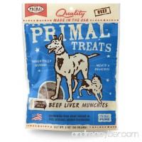 Primal Freeze-Dried Beef Liver Munchies 2oz - B00Y0R4QBS
