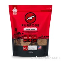 Purpose Freeze Dried Beef and Organic Veggie Humanely Raised Dog Food  14 Ounce - B0757Y455N