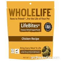 Whole Life Pet LifeBites Chicken Recipe Freeze Dried Food for Dogs 16 oz - B01E78WE4U