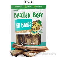 "Baxter Boy Premium Roasted Beef Ribs Dog Bone Treats Chews (10 Pack) – 7"" Long All Natural Gourmet Dog Treat Chews – Delicious Smoked Beef Flavor - B07BKNLXB9"