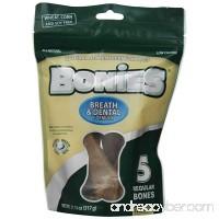 BONIES Natural Dental Bones Multi-Pack REGULAR (5 Bones / 11.15 oz) - B004OA5ZES