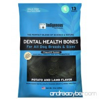 Indigenous Dental Health Bones 17 oz Potato and Lamb Flavor - B00W7YJ5DA