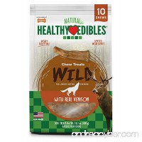 Nylabone Healthy Edibles Edible Antler Real Venison Dog Treats - B01HQMFL6C