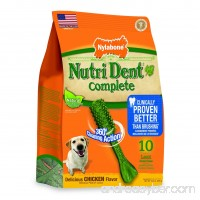 Nylabone Nutri Dent Complete Dog Treat Bones for Large Dogs up to 50 Pounds - B00BDNCYDE